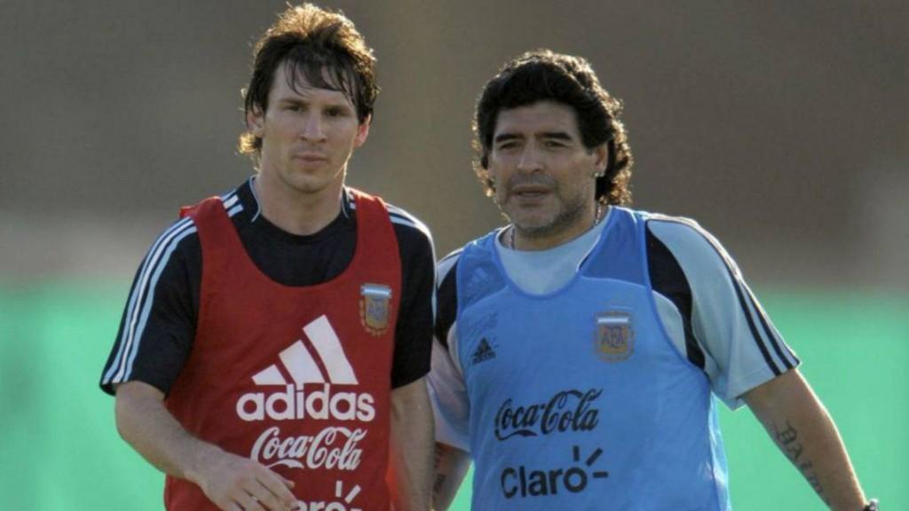 Emotiva despedida de Messi: Nos deja pero no se va, porque el Diego es eterno