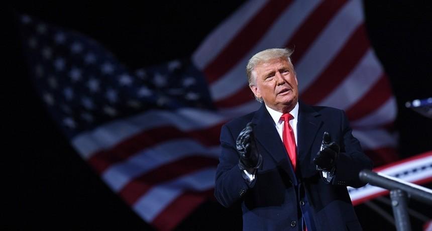 Trump insiste en que hubo fraude y que ganó las elecciones