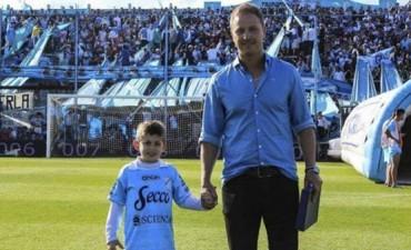 Hernán Lewin, el presidente de Temperley, le donará un riñón a su hijo