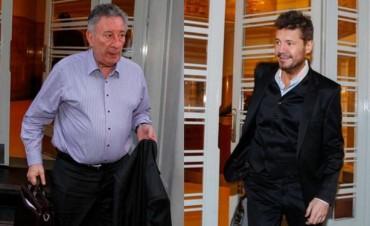Luis Segura y Marcelo Tinelli, por el sillón de la AFA