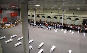 Velan a los gendarmes que murieron en Salta