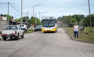 Plan Norte: el nuevo pavimento garantiza el transporte público en Punta Norte