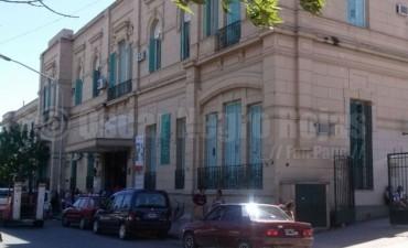 Destrozos en el Hospital José María Cullen