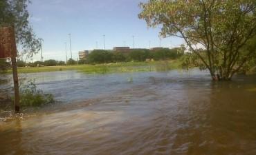 El Río Paraná superó los 5,80 metros y son 188 las personas que dejaron su hogar