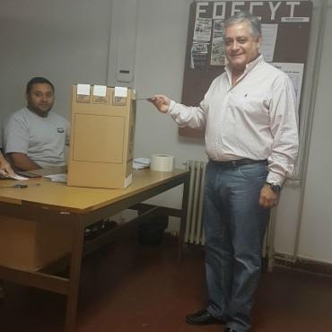 Amplio respaldo obtuvo la conducción de Alberto Cejas al frente de FOECYT Santa Fe