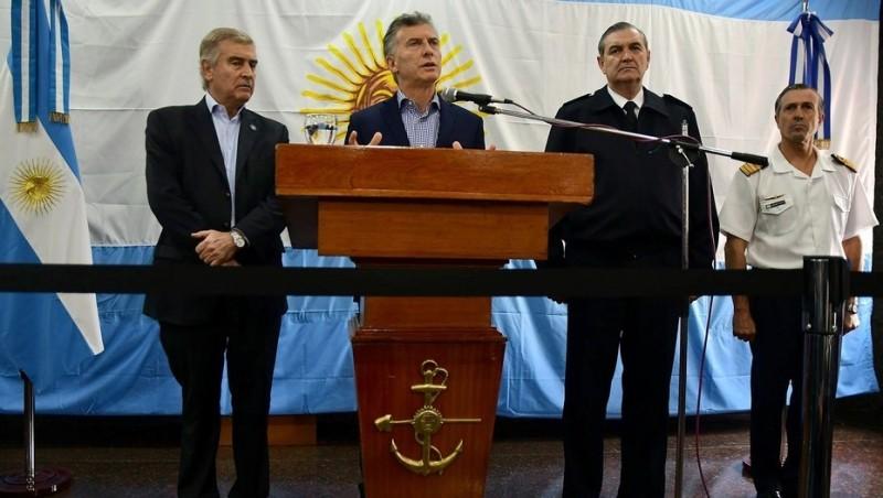 El Gobierno le apunta a la Armada por ocultar 8 llamadas del ARA San Juan