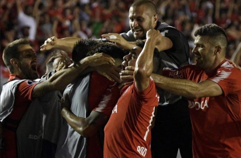 Independiente ganó en la ida de la final de la Copa Sudamericana