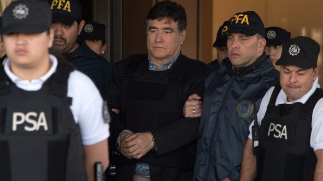 Zannini fue trasladado al penal Ezeiza y a D Elía le negaron la excarcelación