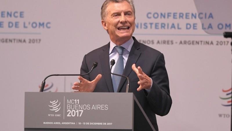 Macri dijo que Argentina dejó de estar aislada del mundo