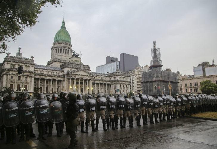 """""""La política del ajuste necesita de la represión"""""""