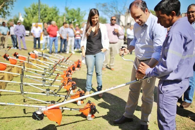 El Municipio refuerza su equipamiento para mantener playas y parques