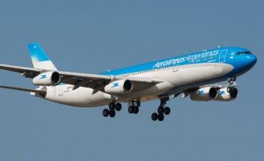 """Bomba a bordo"", la falsa alarma en un vuelo de Aerolíneas"