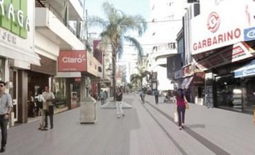 Invertirán casi 45 millones de pesos para la remodelación de la Peatonal San Martín