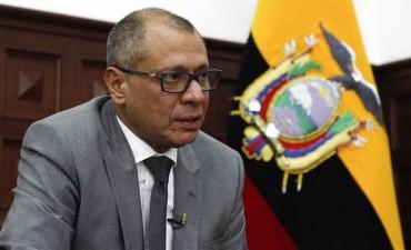 Condenaron al vicepresidente de Ecuador a seis años de prisión por corrupción