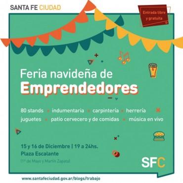Vuelve la Feria Navideña de Emprendedores