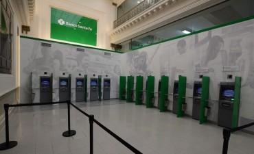 Banco Santa Fe inauguró un moderno lobby de Cajeros Automáticos en la ciudad de Santa Fe
