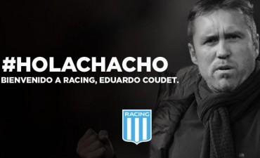 El Chacho Coudet será el técnico de Racing