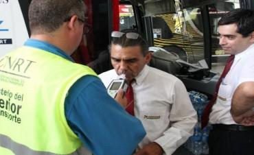 Realizarán sanciones más severas a conductores profesionales que les detecten alcohol en sangre