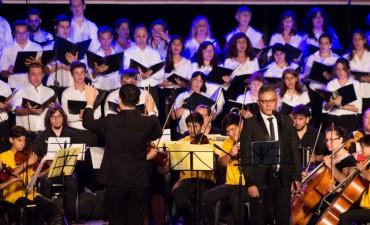 Se realizó el concierto Navidad Solidaria