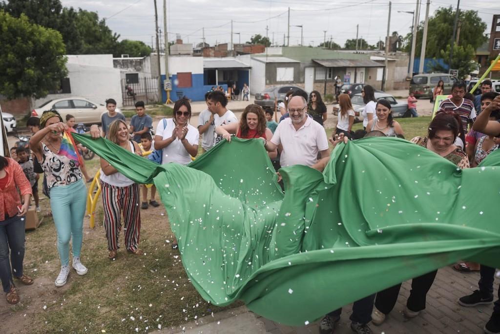 Barranquitas Sur tiene una nueva plazoleta