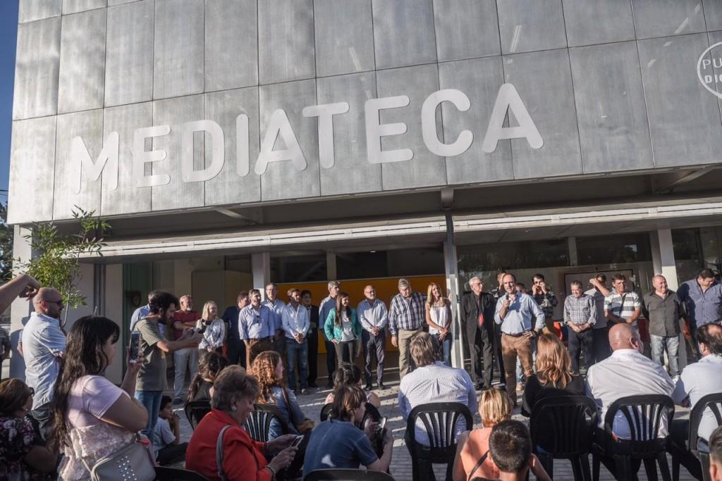 Se estrenó el edificio Nido-Mediateca La Cumbia
