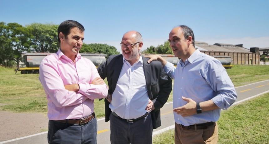 Firmaron un convenio para urbanizar los terrenos de la Estación Belgrano
