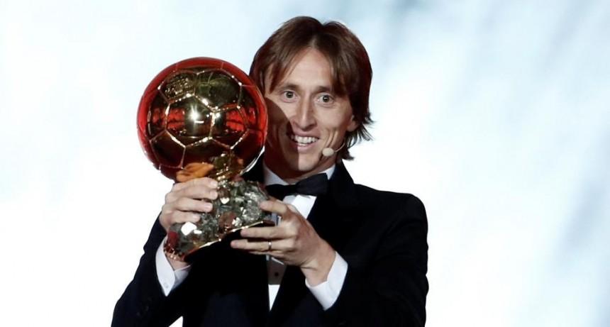 Luka Modric se llevó el Balón de Oro