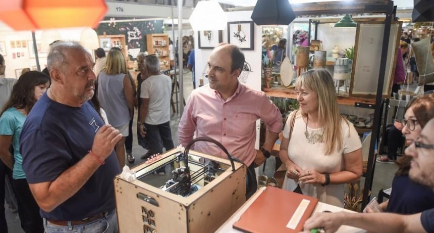 Corral recorrió el Festival Diseña Santa Fe