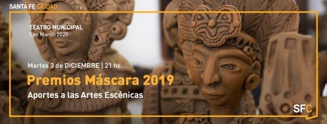 El martes 3 de diciembre entregarán el Premio Máscara 2019