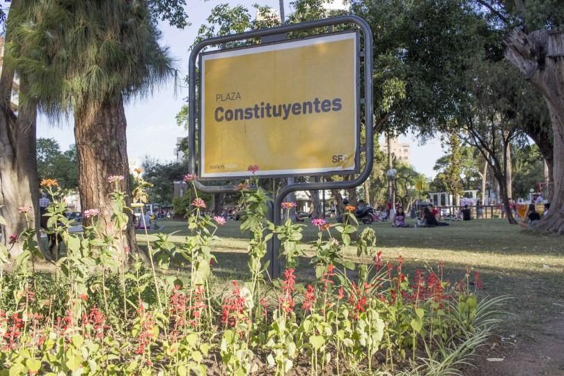 Inauguraron las obras de puesta en valor de la Plaza Constituyentes