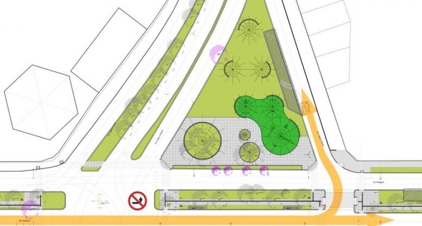 El nuevo sistema de semaforización que reemplazará la rotonda frente al Club Unión