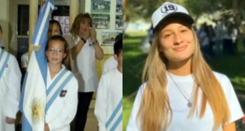 Una chica de Córdoba terminó el colegio con asistencia perfecta desde jardín