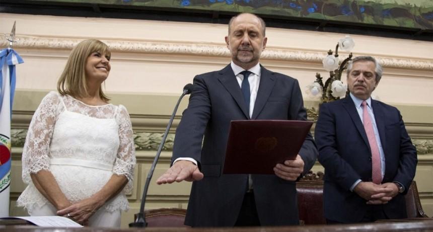 Omar Perotti es el nuevo gobernador de la provincia de Santa Fe