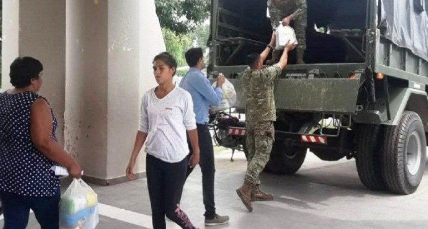 En el polideportivo La Tablada ya no quedan evacuados