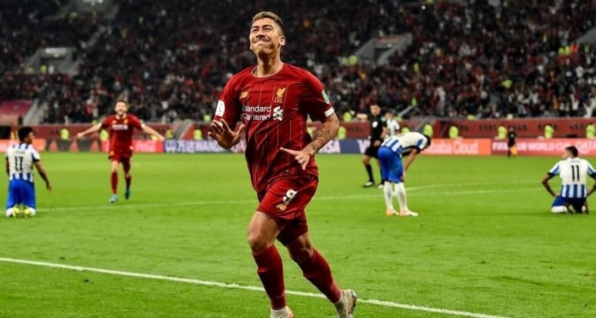 Liverpool le ganó en el final a Monterrey y es finalista del Mundial de Clubes