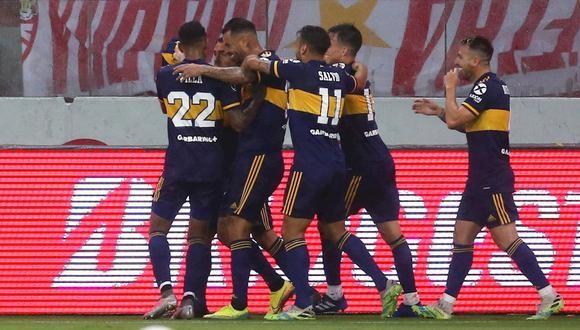 Boca consiguió un valioso triunfo en Brasil frente a Inter